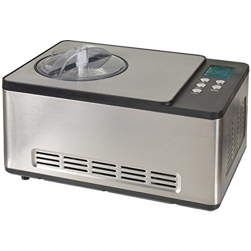 Kitchen Chef ICE1530 Pro Turbine à Glace avec Ecran LCD 1,65 L 150W