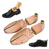 xingxing Industrial Hardware - 1 par de zapatos de madera para hombre, ajustable, moldeador de árboles, soporte de madera, soporte para árbol (color: E)