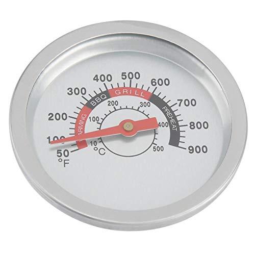 WEILafudong Grillthermometer aus Edelstahl für Grill, Temperaturmesser, 25,2 - 1000 Grad Fahrenheit für Küche, Kochen, Grillen