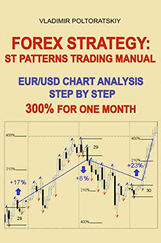Forex Strategy: ST Patterns Trading Manual, EUR/USD Chart Analysis Step by Step, 300{46c2b541ac252d2f40eebd05ae35c86ecd890d6c229cc2773161ecd0bc6b6f1d} for One Month (Forex, Forex trading, Forex Strategy, Futures Trading, Band 2)