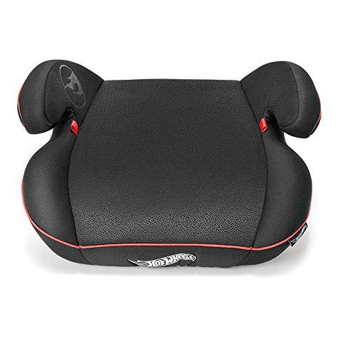 Assento para Auto Booster Hot Wheels Classic 22-36Kg Preto Multikids Baby - BB628