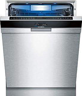 Siemens iQ700 SN478S36TE lavavajilla Bajo encimera 13 cubiertos A+++ - Lavavajillas (Bajo encimera, Tamaño completo (60 cm), Acero inoxidable, Negro, Acero inoxidable, Tocar, TFT)