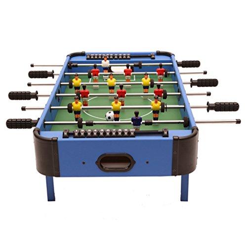 Chunse Top-Tischfußball-Spielzeug-Spiel, Desktop-Fußball-Spielzeug-Station, 6 Schüsse Fußballbrett, Mini-Indoor-Spielzeug, Familie Fußballspiel, Hölzerne Komprimierte MDF (32.6 * 16.5 * 9.2 Zoll)