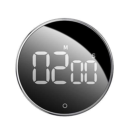 Digital Kitchen Timer, Magnetisch, Eieruhr, Kurzzeitwecker, Große LCD Display, Lauter Alarm, Perfekt Kurzzeitmesser für Kochen, Backen, Sport, Studieren