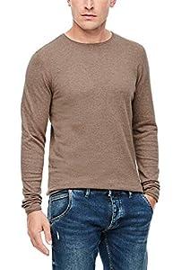 Q/S designed by - s.Oliver Herren 520.12.009.17.170.2054955 Pullover, Brown Melange, XL