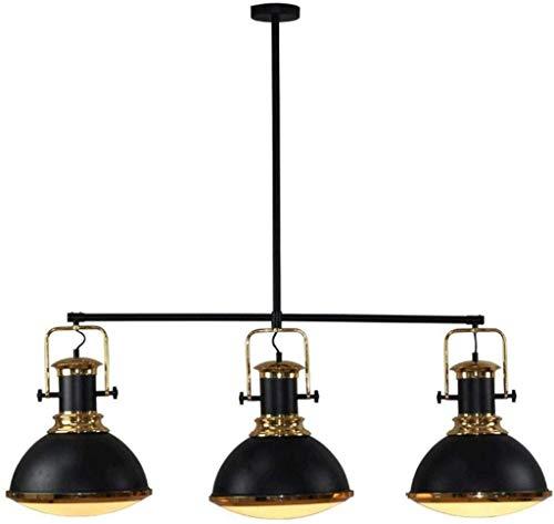 Innenbeleuchtung - ZjNhl Modernes Restaurant Billardtisch Kronleuchter, 3 Licht Nordic Vintage Küchen-Insel-Lampe for Wohnzimmer Schlafzimmer Cafe, Bar, Club, Schlafzimmer