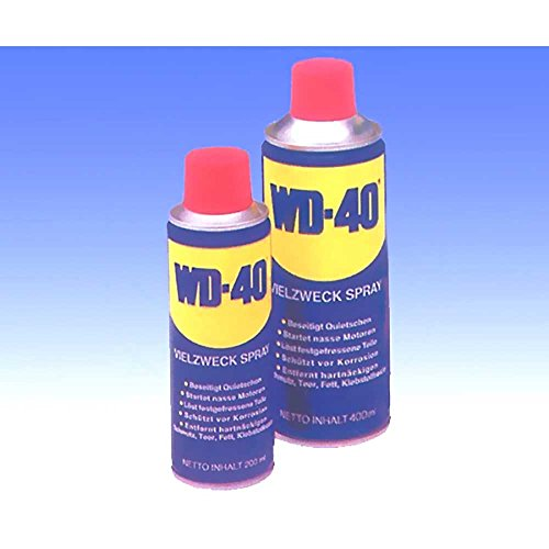 WD 40mucho utilizar con Pray óxido/Lubricante Spray/Contacto/Protección anticorrosión 400ml