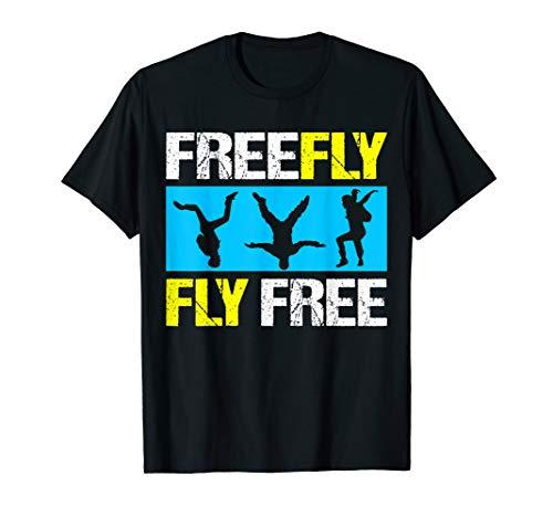 Fallschirm,Fallschirmspringen, Skydive, Freefly, Geschenk T-Shirt