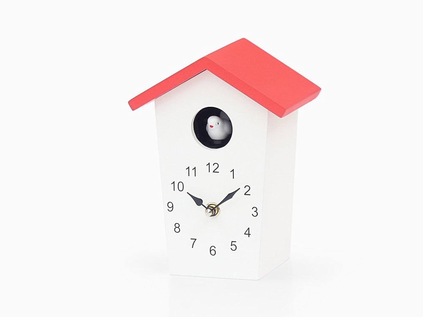 Tartare (タルタル) バードクロック (レッド) / 掛け時計 置き時計