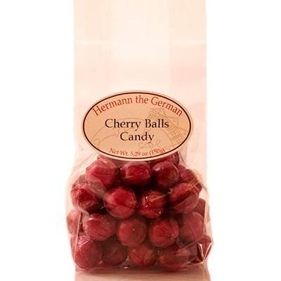 Hermann the German Kirsch Kugeln 150g (Cherry Balls Candy 5.29oz)