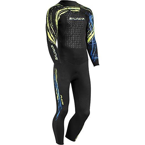 SALVIMAR Flash Fluyd Wetsuit, schwarz/grün, M