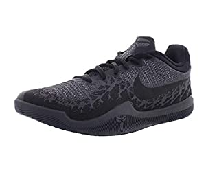 Nike Men's Mamba Rage Basketball Shoes, Black/Dark Grey-m, 10 Narrow