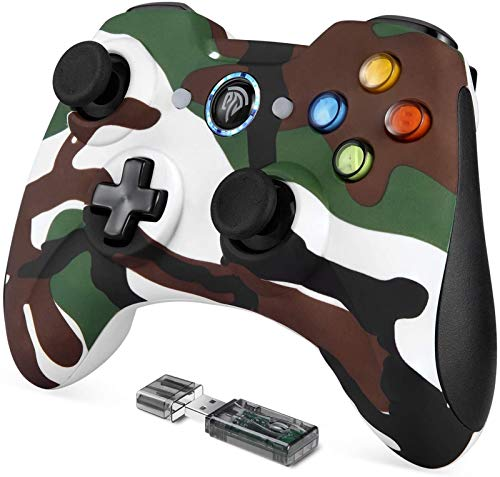 SLL Handle Wireless Controller, for PC, USB Controller Gamepad for PS3 / Android/Windows with Dual Vibration, Turbo Function Flexible