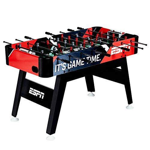 MD Sports ESPN 54-Inch Foosball Soccer ArcadeTable with Bead...