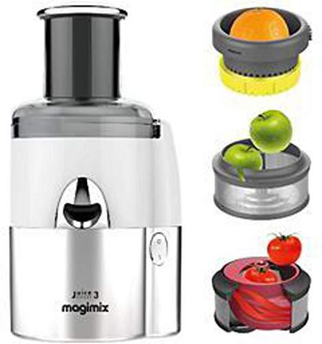 Magimix 18085F Juice Expert 3 Entsafter, Weiß