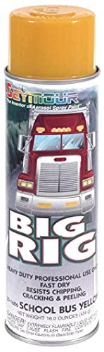 Seymour 20-1686 Big Rig Professional Coatings Spray Paint, School Bus Yellow