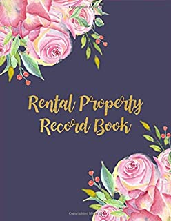 Rental Property Record Book: Property Investor Management Logbook, Income & Expense, Tenant Interview Log, Yearly Financial Goals, Realtor Gift Ideas
