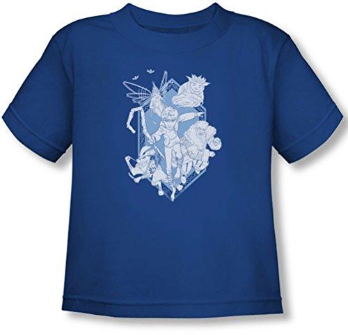 Rise Of The Guardians - - Toddler Venir pour vous T-shirt, 4T, Royal Blue