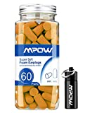 Mpow Foam Earplugs 60 Pairs with Aluminum Carry Case, 34Db SNR Ear...