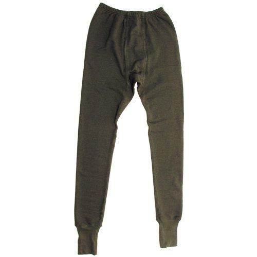 Collant en polaire, militaire, couleur olive, Coton, OLIV, 10