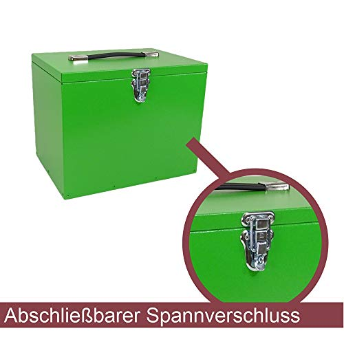 Pferde-Putzbox grün; Putzkiste für Pferde; Pferde-Putzbox; Putzkiste; Putzkasten; Alu-Putzbox, für Reiter und Ihre Pferde entwickelt - 5