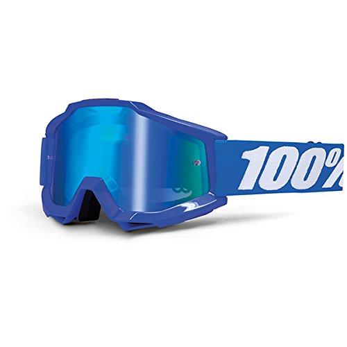 eb61c43b6ea589 Masque Vtt 100% Accuri Reflex Blue - Ecran Miroir Bleu