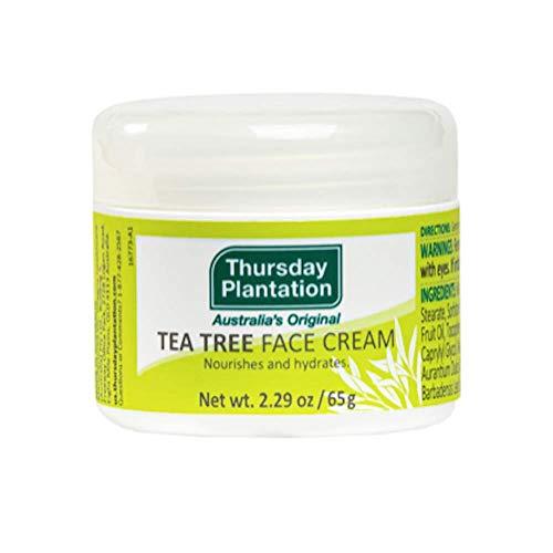 Thursday Plantation Tea Tree Face Cream, Moisturizes and Helps Maintain Clear Skin, 2.29 Ounces