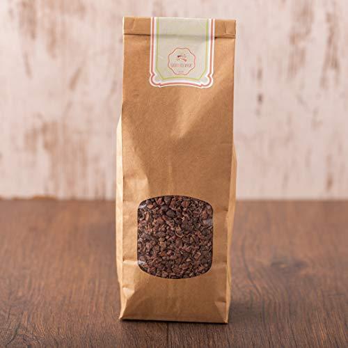 süssundclever.de® Bio Kakaonibs   1 kg   Premium Qualität   hochwertiges Naturprodukt   plastikfrei und ökologisch-nachhaltig abgepackt