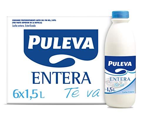 Puleva Puleva Leche Entera 6 Botellas De 1,5Lt 9800 g