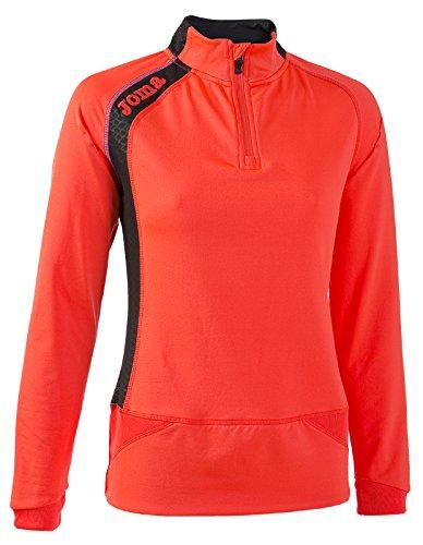 Joma Elite V Sweat-Shirt 1/2 Zip XL Corail Fluo - 041