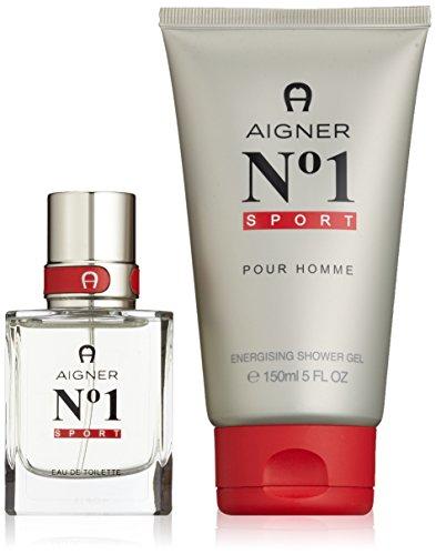 Etienne Aigner Number 1 Sport Set homme/men, Eau de Toilette, Vaporisateur/Spray, Showergel, 1er Pack (1 x 180 ml)