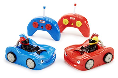 Little Tikes RC Bumper Cars (2Pk) Remote Controlled Cars