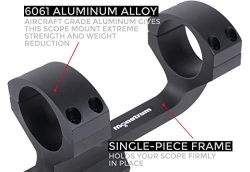 Monstrum Slim Profile Series Offset Cantilever Picatinny Scope Mount30 mm
