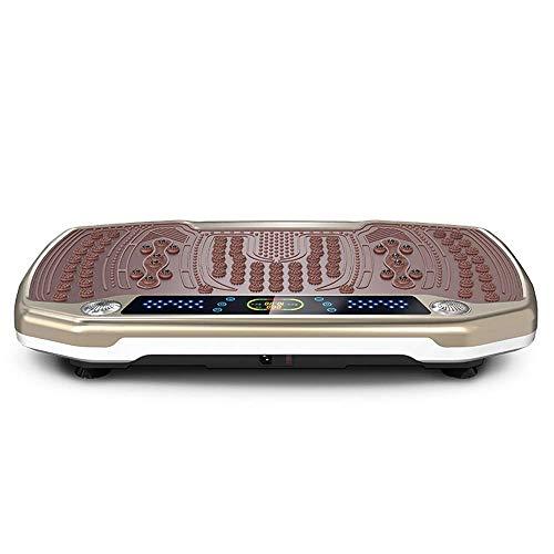 TGhosts Vibrationsplatte, Vibrationsplatte Haushalts Fat Burning Abnehmen Maschine faul Fitnessgeräte Weight Loss Artifact 800X460X140mm Rüttelplatte