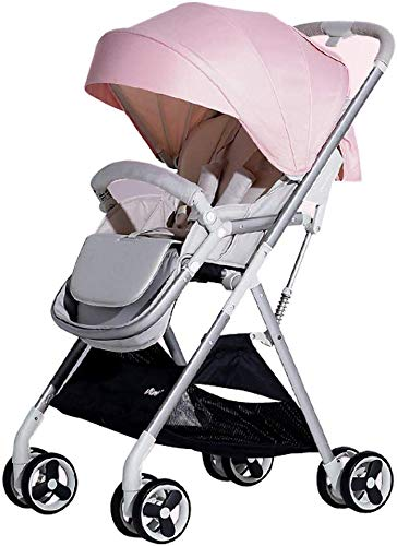 Great Deal! Comfortable and Safe Baby Carriage Lightweight Folding Portable Stroller, Triangular Int...