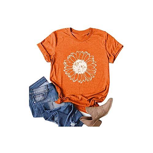 Camisas para mujer, tallas grandes, camisetas de verano, manga corta, sueltas, informales, para adolescentes y niñas, camisetas gráficas