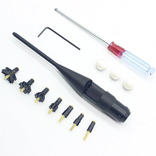 Buwico Rot Laser 0.22 bis 0.50 Bohrung Sighter Kit für Jagd .17 zu .78 Caliber Gewehre