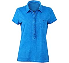 Ladies Gipsy Polo in Atlantic Size: S: Amazon.es: Ropa y accesorios