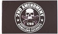 """Biker Flag - 1789 2nd AMENDMENT America's Original Homeland Security - 3"""" x 5"""""""