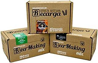 Pack 3 recargas de materias primas para elaborar cerveza en