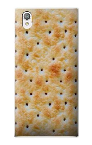 Innovedesire Cream Cracker Biscuits Funda Carcasa Case para Sony Xperia L1
