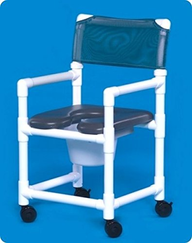Innovative Products Unlimited VLOF17P Standard Line Open Front Soft Seat Shower Chair Commodes by Innovative Products Unlimited