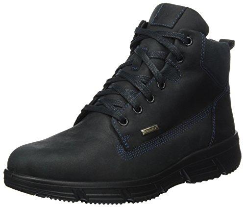 Jomos Herren Montana Chukka Boots, Mehrfarbig (Schwarz/Ozean), 46 EU