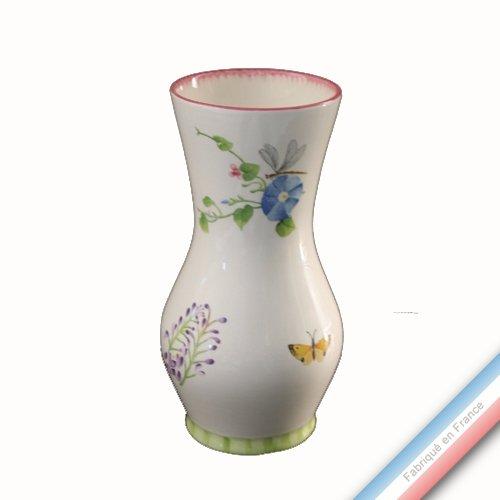 Lunéville 1730 Collection Vent DE Fleurs - Vase 9082 - H 24 cm - Lot de 1
