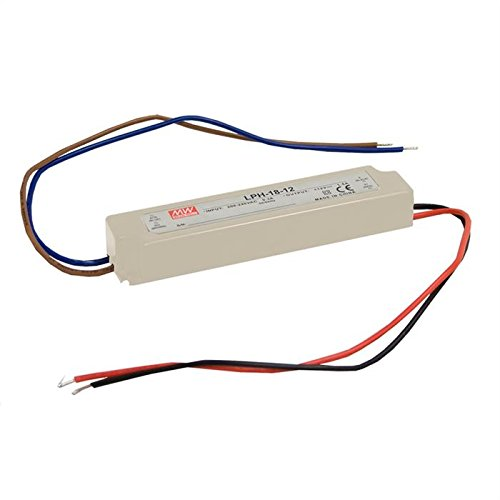 Preisvergleich Produktbild LED Netzteil 18W 36V 0, 5A ; MeanWell LPH-18-36 ; Schaltnetzteil