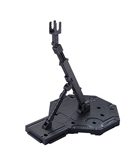 Bandai Hobby Action Base 1 Display Stand (1/100 Scale), Black (BAN148215)