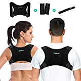 Anpole Adjustable Posture Corrector for Men and Women, Upper Back Brace for Clavicle
