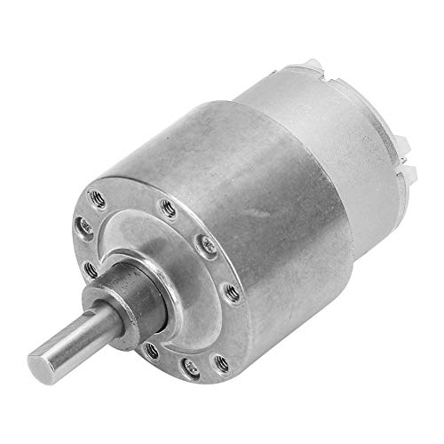Motor, Gear motors, Speed Reduction Motor Toy Vending Machine Window Opener DC Gear Motor Automation Equipment(Reduction ratio 10)