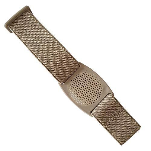 Diasticker® - Freestyle Libre Fixierband – Gitter: Beige (Medium: 25-35 cm, Beige)   Flexibel - Wasserfest - Sensitiv   Sensor-Fixierung, Sensor-Schutz   Farbauswahl