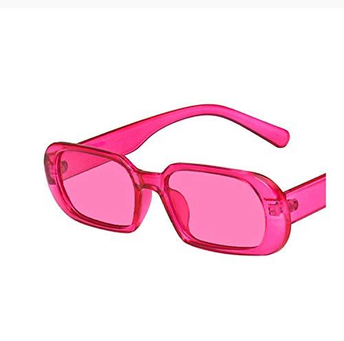 ZZZXX Gafas De Sol Hombre Lentes De Color Caramelo Lady De Montura Pequeña De Moda Gafas De Piloto Con Estuche Y Paño De Limpieza, Para Ciclismo Pescar Y Conducir